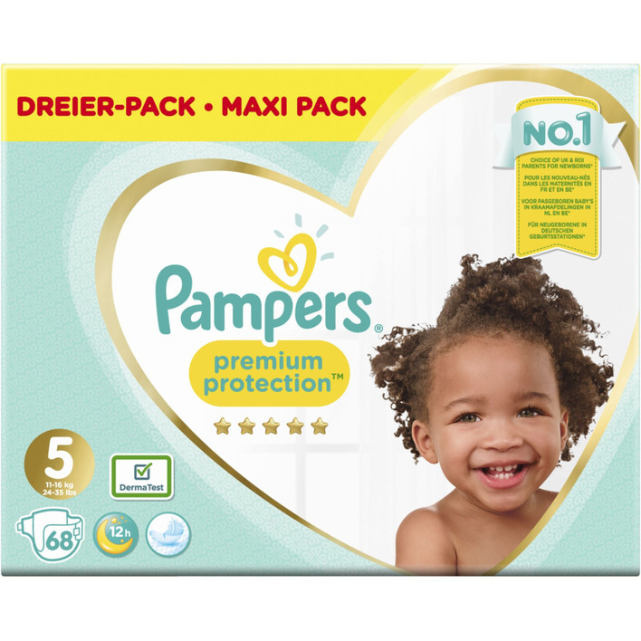 Pampers Premium Protection Megapak maat 5