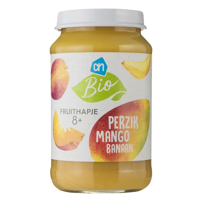 Huismerk Biologisch Perzik mango banaan 8m06