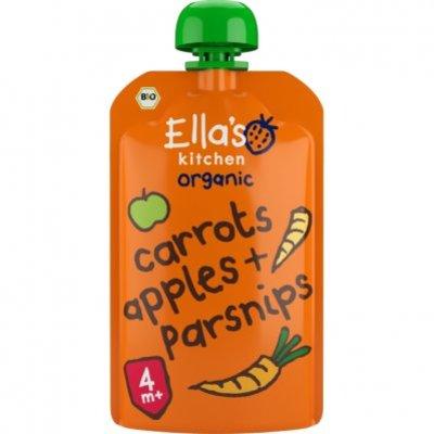 Ella's Kitchen Carrots apples + parsnips 4+ bio