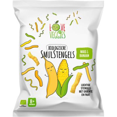 Love my veggies Smulstengels 8m