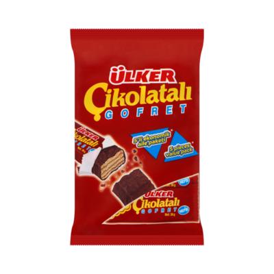 Ülker Wafeltje met Hazelnootvulling Omhuld met Melkchocolade Value Pack