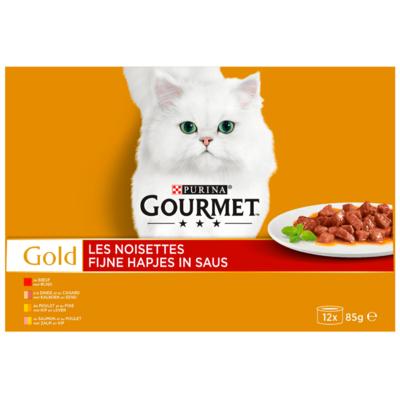 Gourmet Kattenvoer gold fijne hapjes in saus