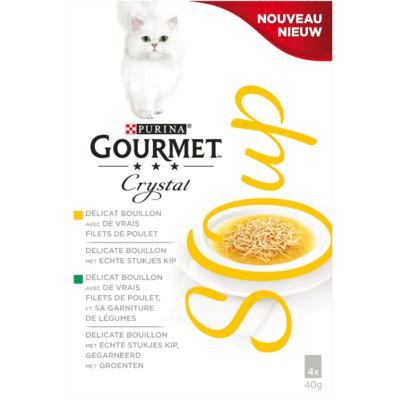 Gourmet Kattensoep kip