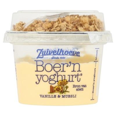 Zuivelhoeve vanilledesert