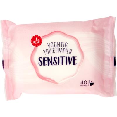Huismerk Vochtig toiletpapier sensitive