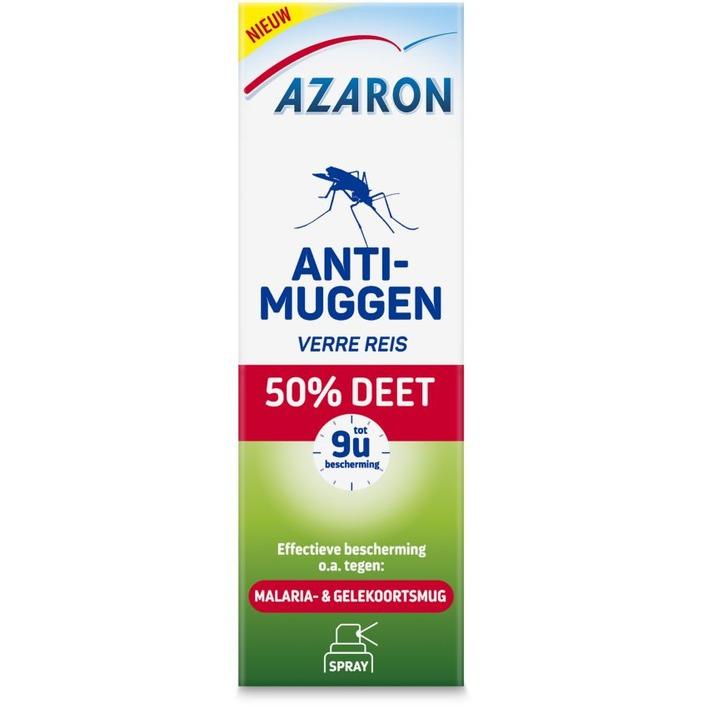 Azaron Anti muggen 50% deet spray