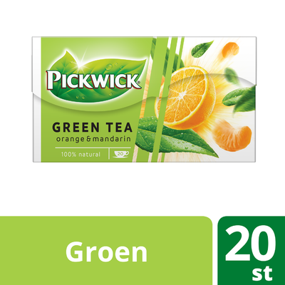 Pickwick Groene thee orange mandarin