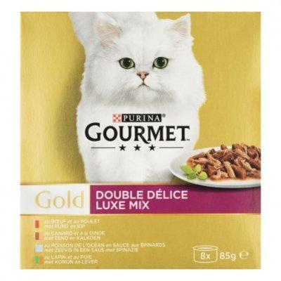 Gourmet Gold luxe mix 8-pack o.a. rund & kip