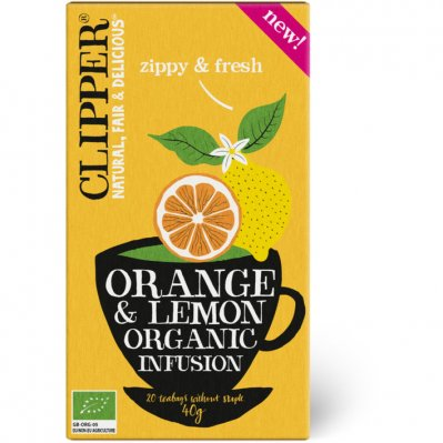 Clipper Orange & lemon