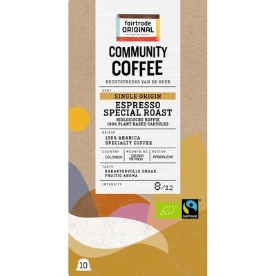 Fairtrade Original Espresso single origin cupjes