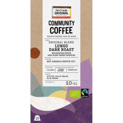 Fairtrade Original Lungo dark roast cupjes