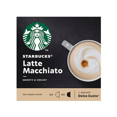 Starbucks latte macchiato Dolce Gusto 12 stuks