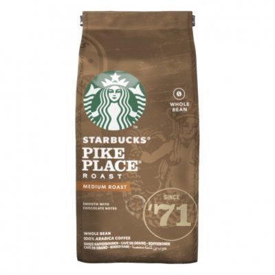 Starbucks Pike place medium roast koffiebonen