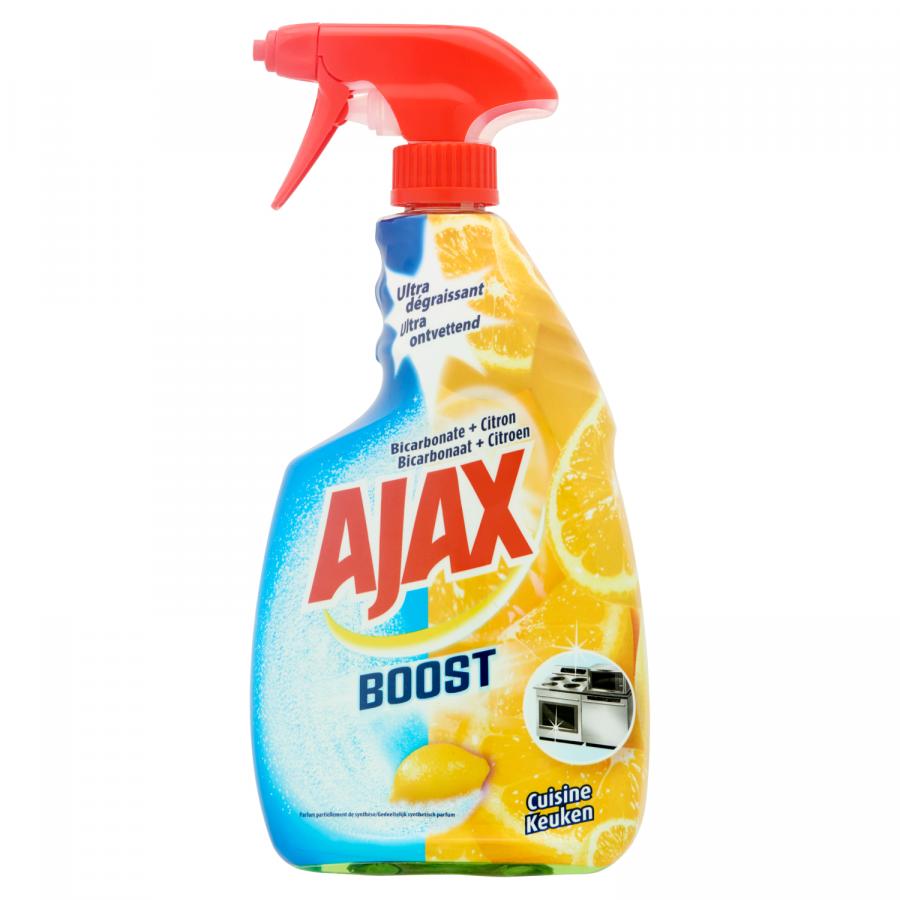 Ajax Boost reiniger bicarbonate + citroen