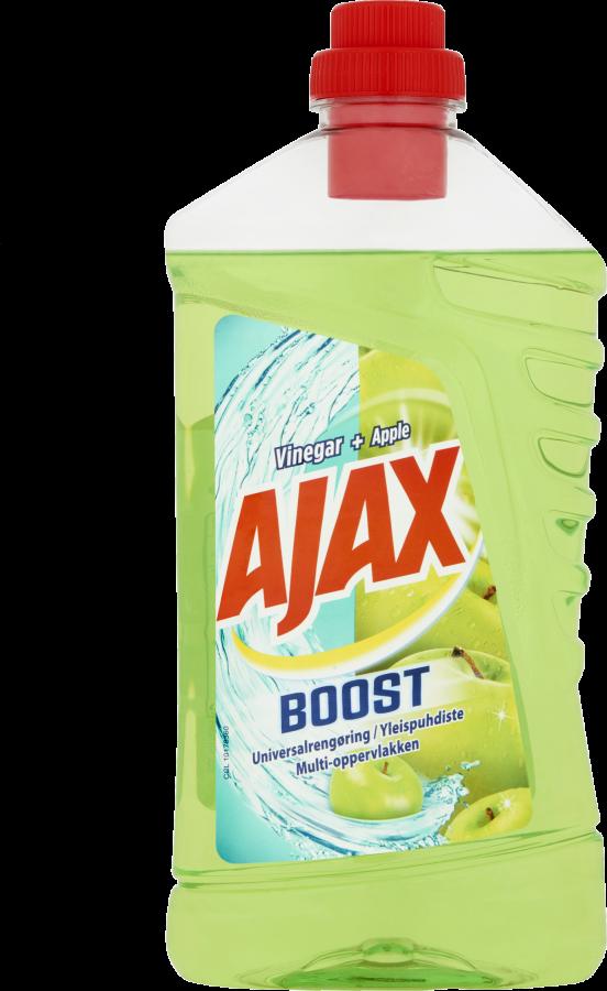 Ajax Boost reiniger vinegar + appel