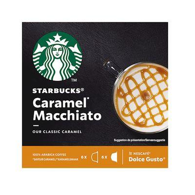 Starbucks caramel macchiato Dolce Gusto 12 stuks