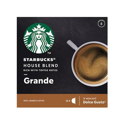 Starbucks house blend grande Dolce Gusto 12 stuks