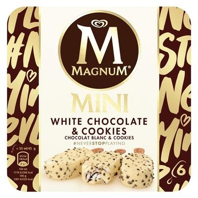 Ola magnum mini white cookies
