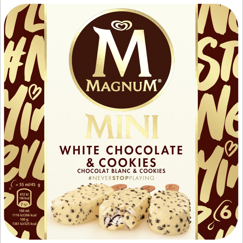 Ola Magnum white cookies mini 6 stuks
