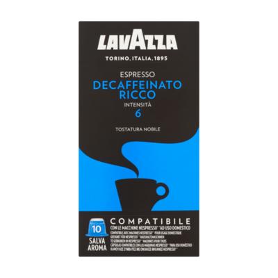 Lavazza Espresso Decaffeinato Ricco 10 Stuks