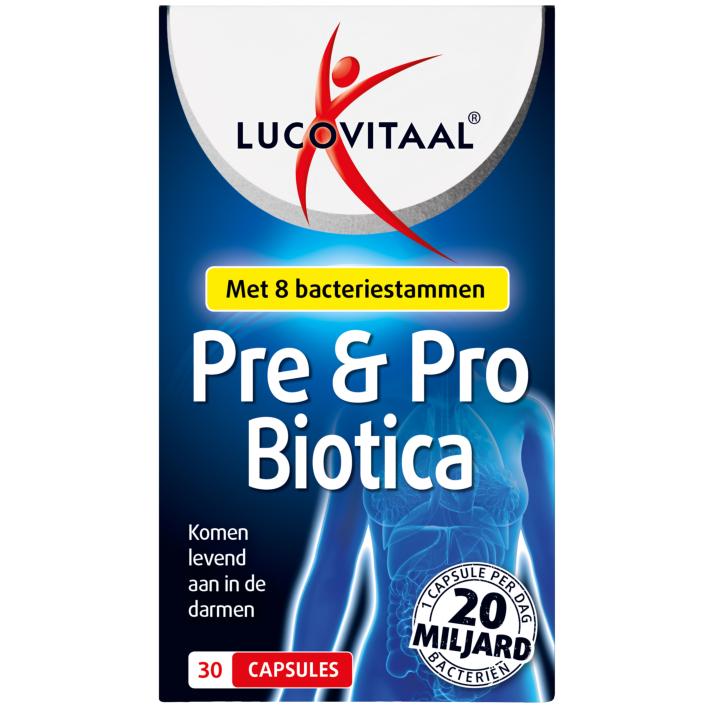 Lucovitaal Pre & probiotica 30