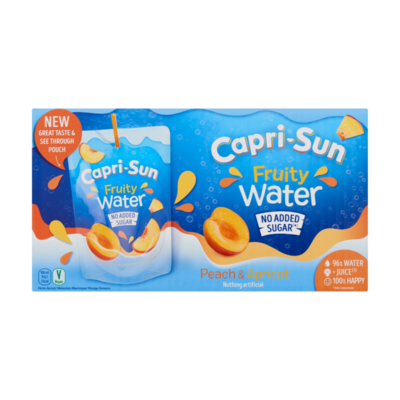 Capri-Sun Fruity Water Peach & Apricot