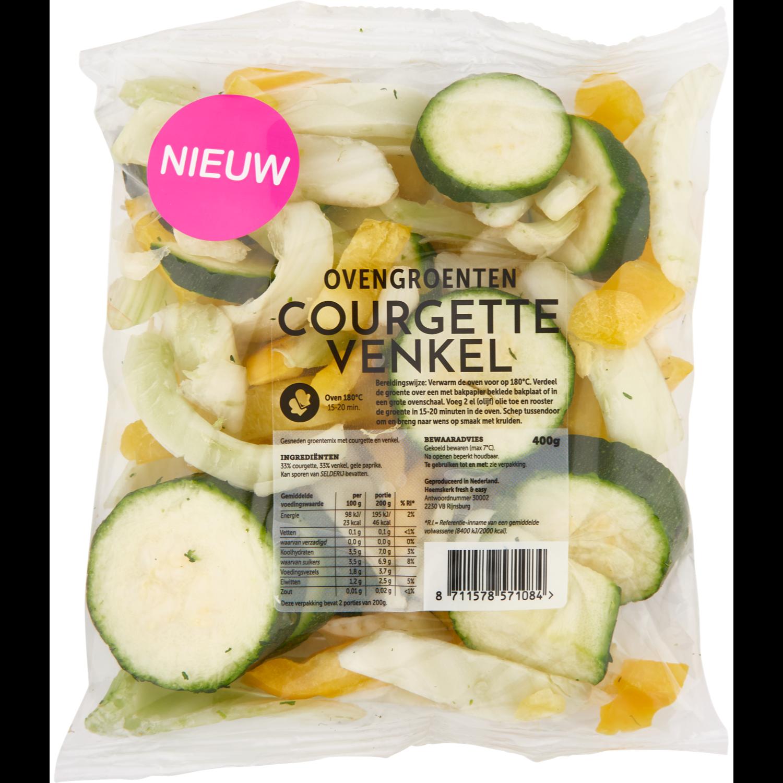 Fresh & easy Ovengroenten courgette-venkel