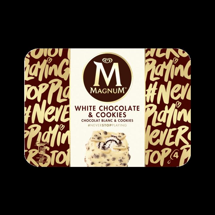 Magnum IJs White Chocolate & Cookies