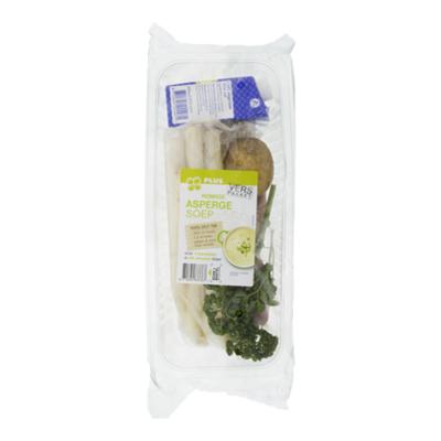 Huismerk Pakket voor romige aspergesoep