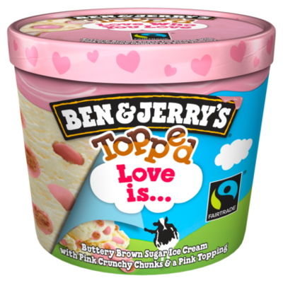 Ben&Jerry's Topped love is... Fairtrade