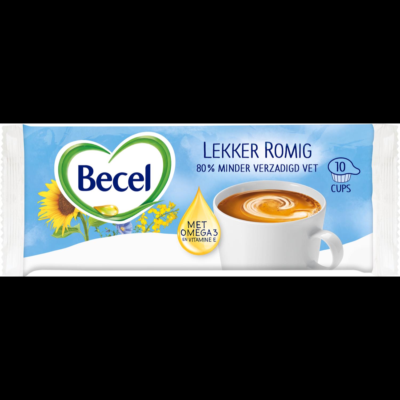 Becel Koffiemelkcups 10 cups