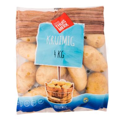 Huismerk Aardappelen kruimig