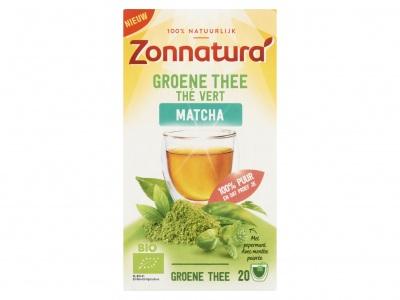 Zonnatura Groene thee matcha munt
