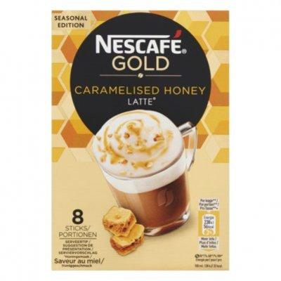Nescafé Gold caramalised honey latte oploskoffie