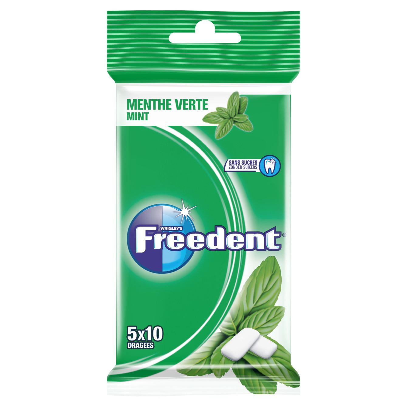 Freedent Mint 5-pack