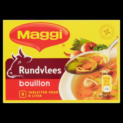 Maggi Bouillon rundvlees 8 blokjes