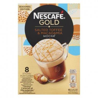 Nescafé Gold salted toffee macadamia oploskoffie