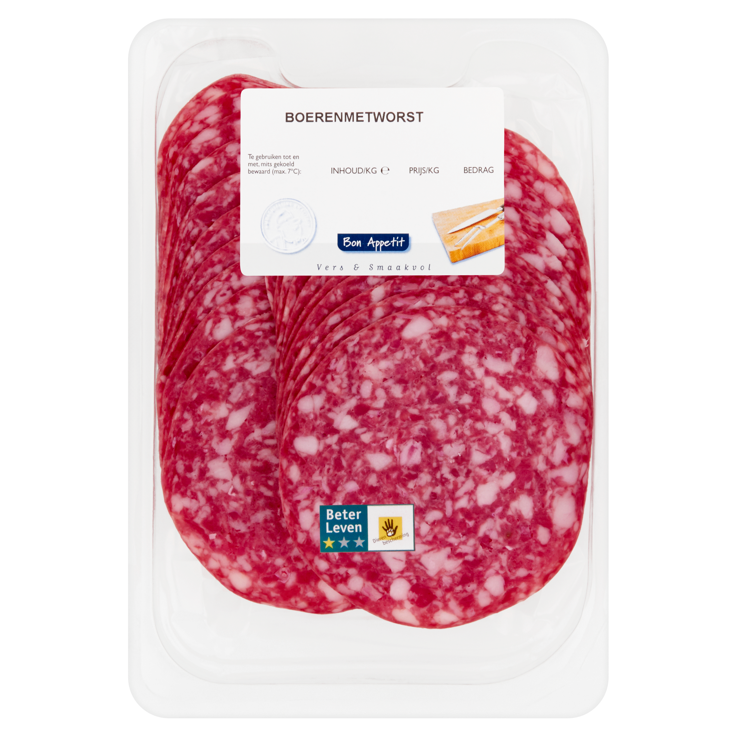 Bon Appetit Boerenmetworst 0,150 kg