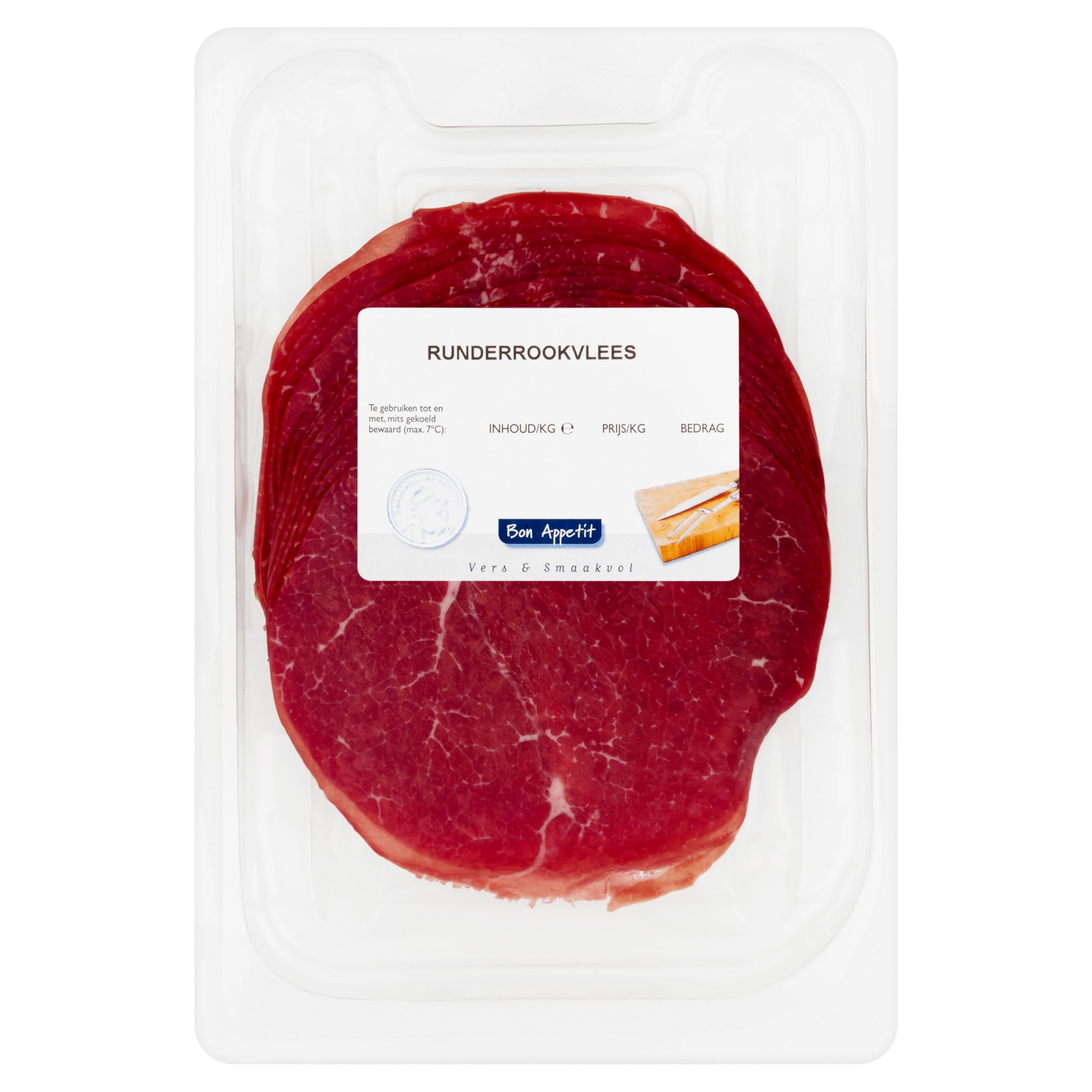 Bon Appetit Runderrookvlees 0,100 kg