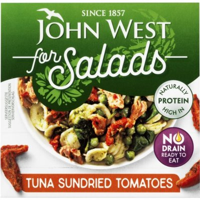 John West Tuna for salads sun dried tomato
