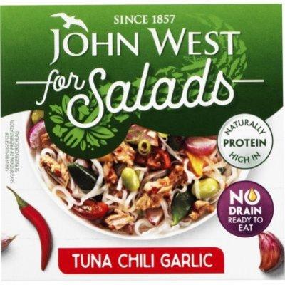 John West Tuna for salads chili & garlic