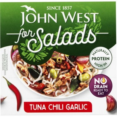 John West Tuna for salads chili & garlic