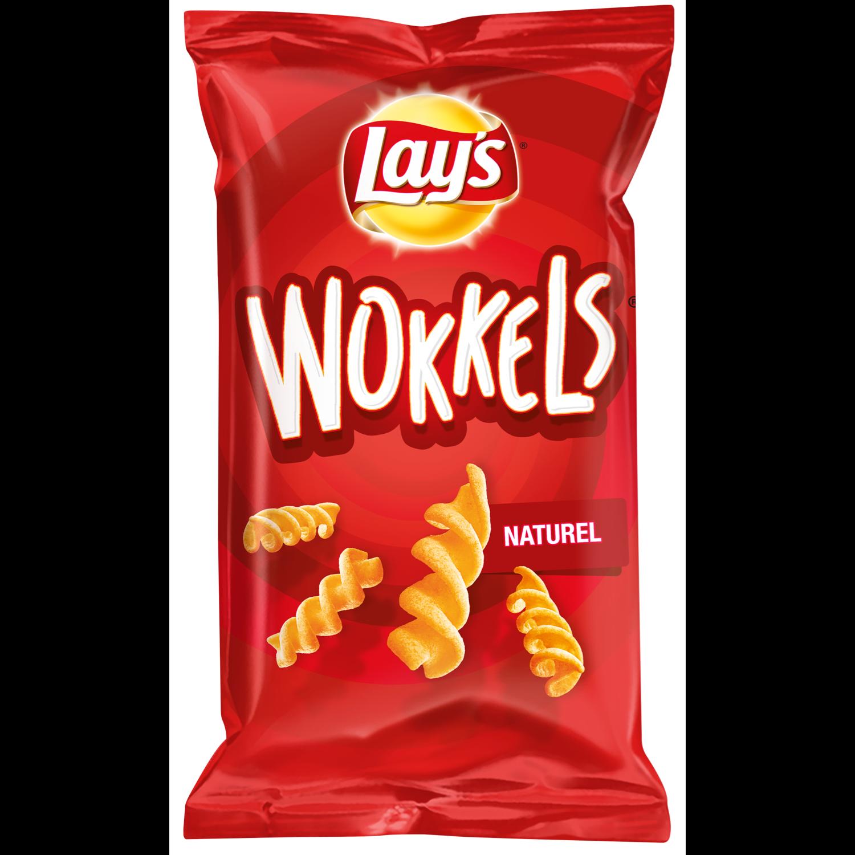 Lay's Wokkels naturel zout