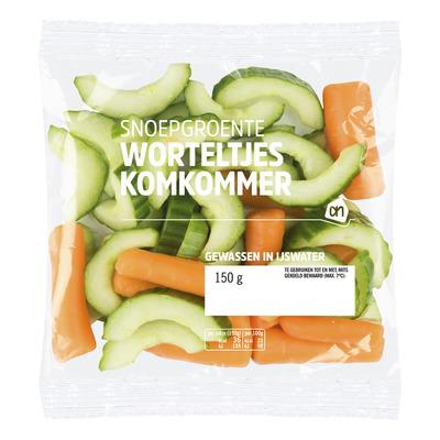Huismerk Snoepgroente komkommer wortel