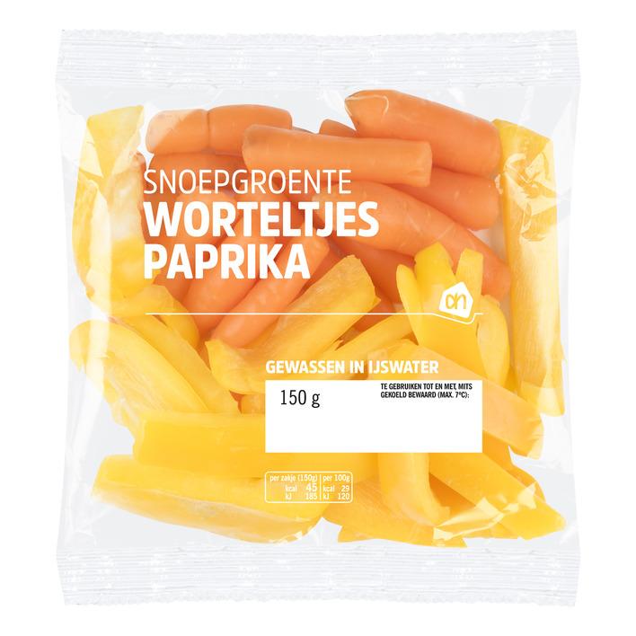 Huismerk Snoepgroente paprika-wortel