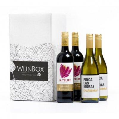 Huismerk BBQ wijnbox