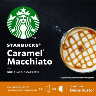Starbucks Dolce gusto caramel macchiato cups