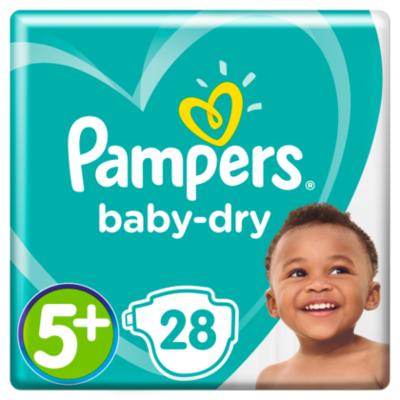 Pampers Luiers Baby Dry maat 5+