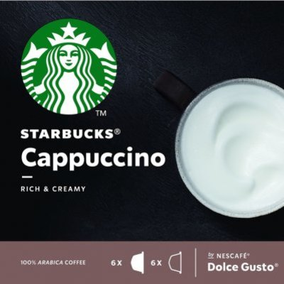 Starbucks Dolce gusto cappuccino koffie cups