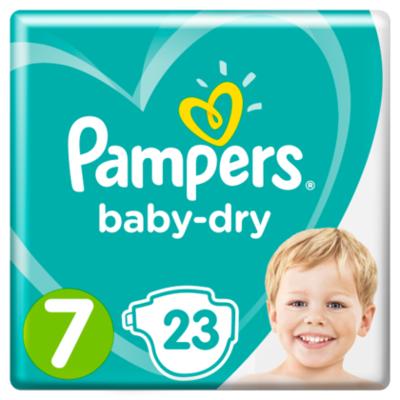 Pampers Luiers Baby Dry maat 7
